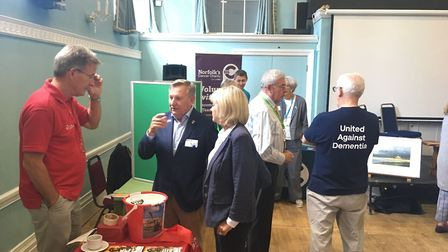 Swaffham Rotary Club hosted a charity fayre as part of its 50th anniversary celebrations. Picture: A