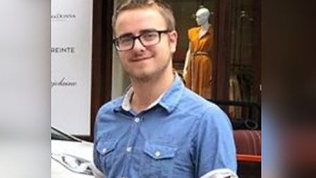 Wymondham man Tom Gray was last seen in Norwich city centre. Picture: Norfolk Police