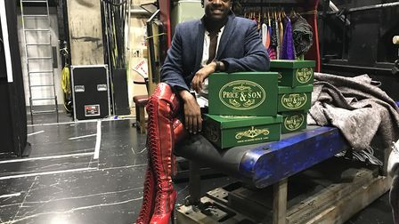 Kayi Ushe star of Kinky Boots at the Theatre Royal. Picture: Ella Wilkinson