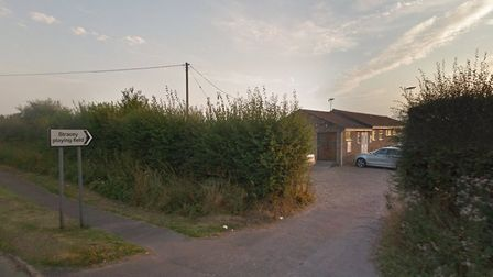 The entracne to Rackheath sports pavilion which has received a £98,000 make over. Picture: Google Ma