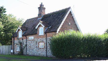 Keepers Cottage in Swaffham, where Howard Carter stayed. Picture: DENISE BRADLEY