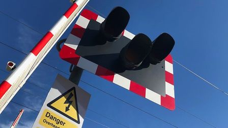 The railway crossing will be closed at Spooner Row during roadworks. Picture: Getty