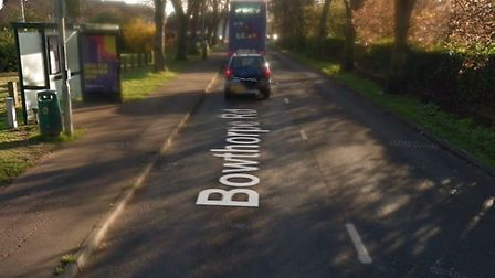 A woman was robbed at a bus stop on Bowthorpe Road, near to the junction with Ivy Court, in Norwich.