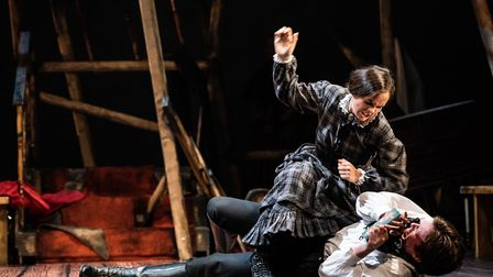 Jane Eyre stage production. Picture: Alex Harvey-Brown
