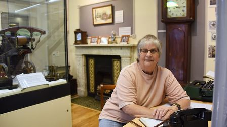Swaffham Heritage Centre manager, Sue Gattuso, at the town's museum. Picture: DENISE BRADLEY