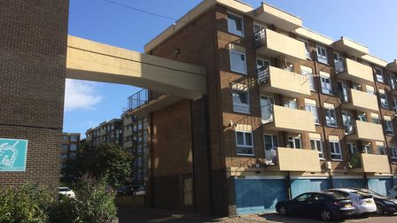 People living in and around a block of flats in Norwich have warned escalating drug use and around t