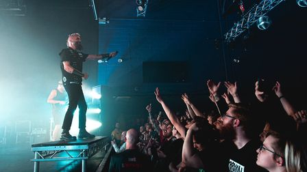 Killswitch Engage headlining The LCR UEA in Norwich. Picture: Lee Harper