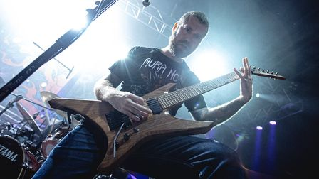 Revocation supporting Killswitch Engage at The LCR UEA in Norwich. Picture: Lee Harper