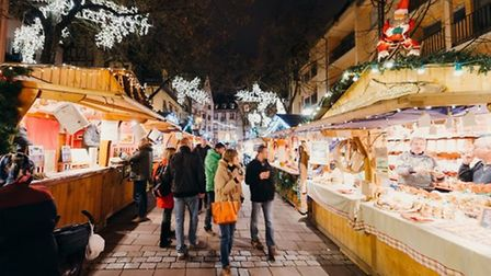 Christmas market Credit: Getty Images