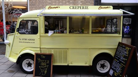 Christophes Crepes in Davey Place. Photo: Steve Adams