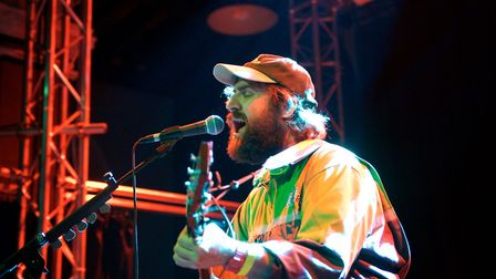 The Pictish Trail supporting Steve Mason at Norwich Arts Centre on 4th November 2019. Picture: Steve