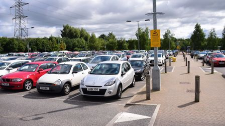 Thickthorn Park & Ride. Picture: DENISE BRADLEY