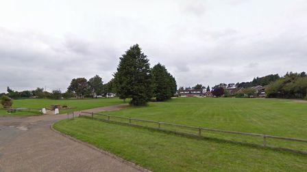 An application has been made to build six homes on Brecklands Green in North Pickenham. Picture: Goo