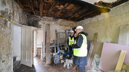 Number Sixteen Elm Hill is being renovated and preserved for future generations. Picture: Jamie Hone