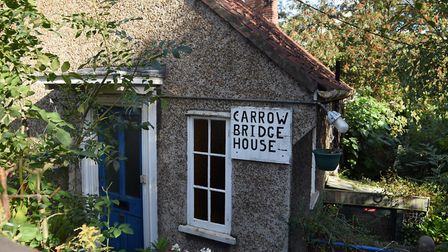 Carrow Bridge Master House, which is being auctioned online later this month Picture: DENISE BRADLEY