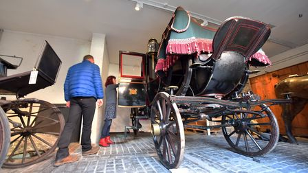 The Lord Mayor's Coach has been away being repaired for months but it''s now back in Norwich at Stra