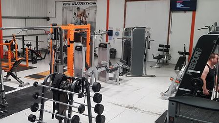 The new area of the Full Fitness Gym. Picture: Peter Dive