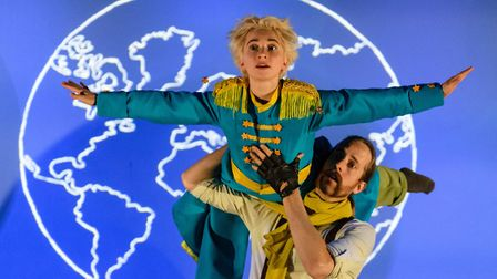 Luca Silvestrini's Protein presents The Little Prince, a show about love and friendship for children