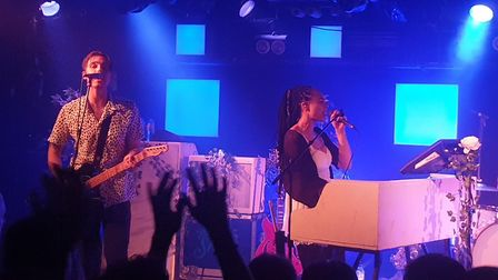 The Skints headlining The Waterfront in Norwich on October 23, 2019. Picture: David Warman
