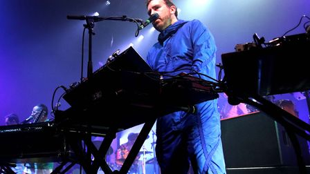 Hot Chip headlining The UEA LCR on October 24, 2019. Picture: Ross Halls