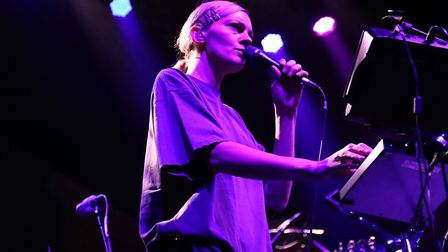 Rosie Lowe supporting Hot Chip at The UEA LCR on October 24, 2019. Picture: Ross Halls