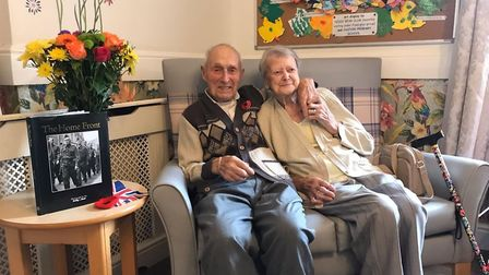 John and Ella Lister, aged 100 and 91, are set to celebrate their 70th wedding anniversary with frie