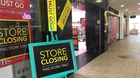 A new tenant is being sought for Debenhams in Market Gates which is closing in January Picture: Liz
