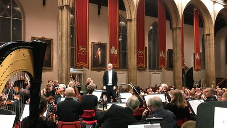 The Academy of St Thomas performing at St Andrews Hall. Picture: Chrissie Owens