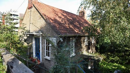 Carrow Bridge Master House, which is being sold at auction next month Picture: DENISE BRADLEY