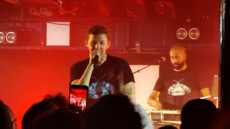 Professor Green headlining The Waterfront in Norwich on 18th November 2019. Picture: Chelsea Carter