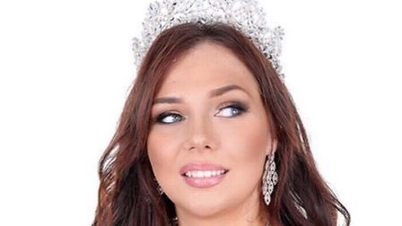 Danielle Evans, Miss Social Media Great Britain, is also a rugby player and has started a campaign #