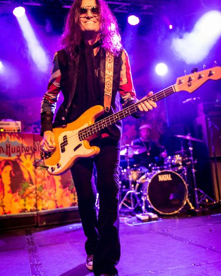 Glenn Hughes performing in Cambridge the night before he headlined The Waterfront in Norwich on Nove