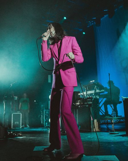 Primal Scream headlining The Nick Rayns LCR, UEA in Norwich on 27th November 2019. Picture: Danielle