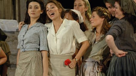 Glyndeboure L'elisir d'amore by Donizetti. Picture: Mike Hoban/Glyndebourne Productions