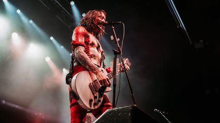 The Darkness headlining The Nick Rayns LCR UEA in Norwich on 5th December 2019. Picture: Daniel Smit