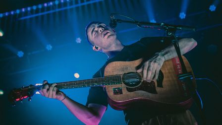 Dermot Kennedy headling The Nick Rayns LCR in Norwich. Picture: Danielle Booden Media