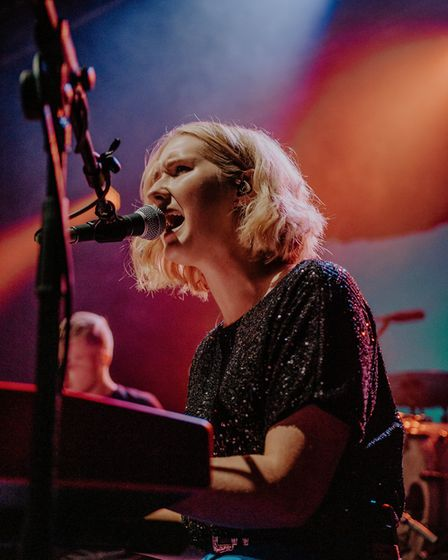 Lilla Vargen supporting Dermot Kennedy at The Nick Rayns LCR in Norwich. Picture: Danielle Booden Me