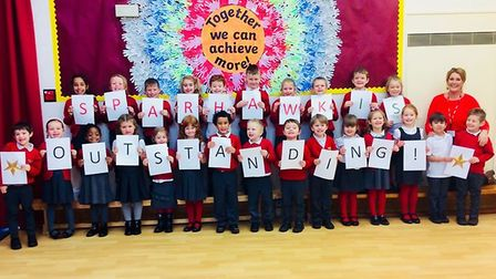 Sparhawk Infant School in Norwich has been rated outstanding by Ofsted under the inspectorate's new