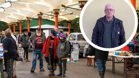 Banham Car Boot held its final sale after 35 years in business. Philip Robinson has been a loyal cus