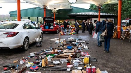 Banham Car Boot held its final sale after 35 years in business. Photo: Philip Robinson