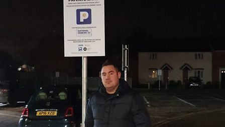 Gavin Thorne was fined £100 for stopping for 12 minutes in an Attleborough car park. Picture: Gavin