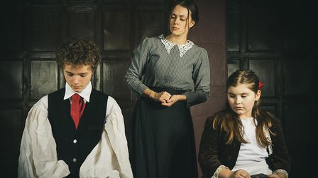 The Innocents runs until January 18 at Sewell Barn in Norwich. Picture: Sean Owen/Reflective Arts