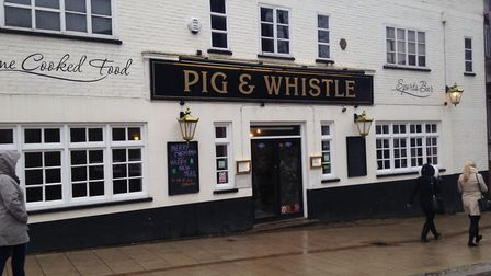 The Pig & Whistle in All Saints Green Picture: Archant