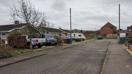 Longmere Road, in Watton, where a number of cars were targeted by a thief. Picture: Marc Betts
