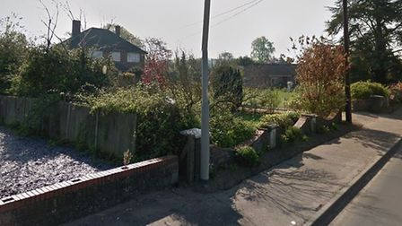 A planning application has been submitted for four homes in Watton. Picture: Google
