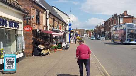 Watton High Street has seen shops disappear across the years. Picture: Marc Betts