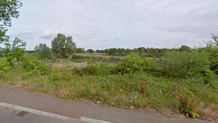 The houses would have been built on land near Blackthorn Road in Attleborough. Photo: Google