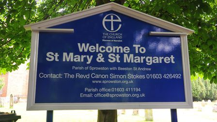 St Mary and St Margaret's Church in Sprowston. Photo: Steve Adams