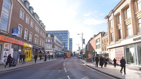 St Stephens Street in Norwich. Picture: BRITTANY WOODMAN
