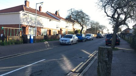 Emergency services were called to a gas leak at Newbegin Road. Pic: Dan Grimmer.